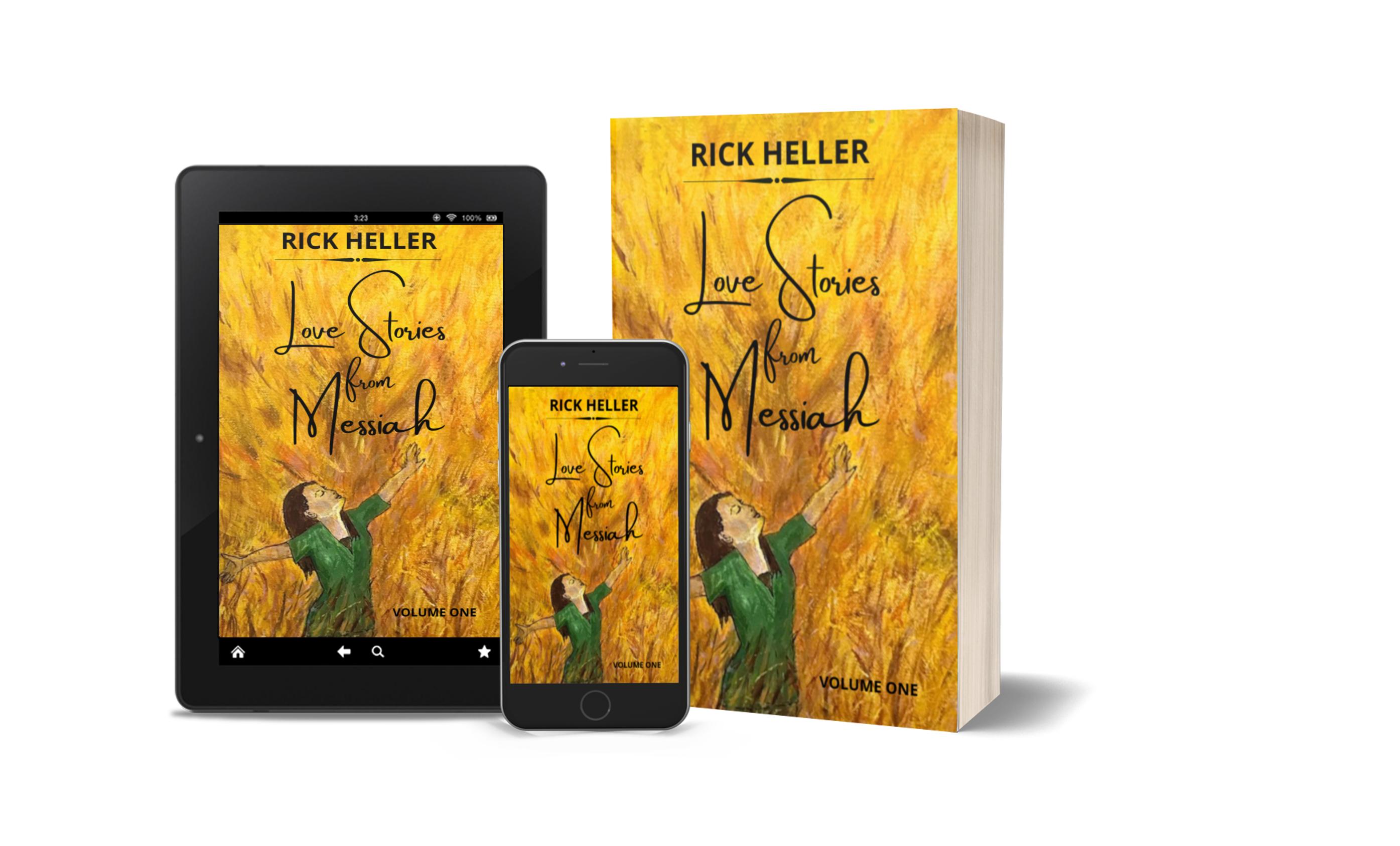 Love Stories from Messiah by Rick Heller